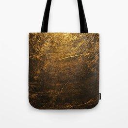 gold vintage Tote Bag