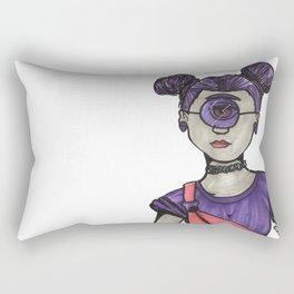 Grunge Cyclops Rectangular Pillow