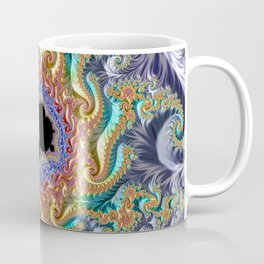 Colorful Slopes Mandelbrot Fractal Coffee Mug
