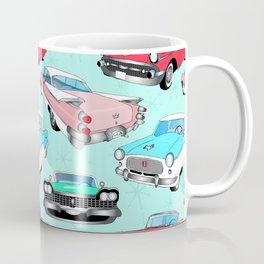 Retro Fins + Fenders in Mod Mint Coffee Mug