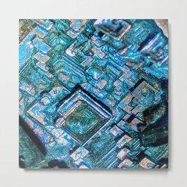 Bismuth Metal Print