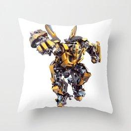 Bumblebee Auobot Transformer Throw Pillow