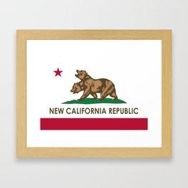 New California Republic Framed Art Print