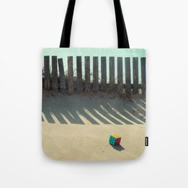Rubik shading in the beach Tote Bag