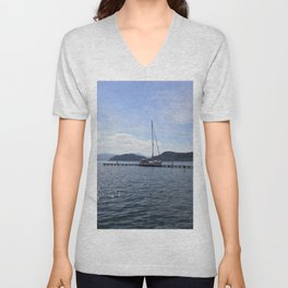 Exploring The Coast Less Travelled Unisex V-Neck