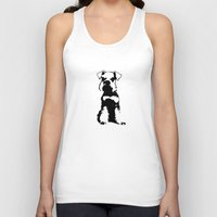 schnauzer Tank Tops featuring Miniature Schnauzer by illustrious state