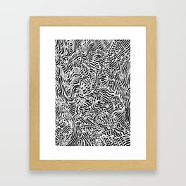 OCD and a Calligraphy Pen #2 Framed Art Print