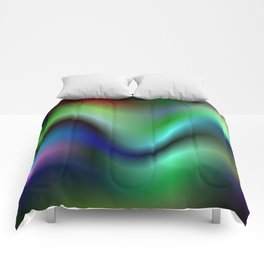 Electric waves Comforters