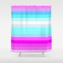 Re-Created Spectrum LXVI Shower Curtain