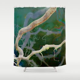 Inverted Art - Reflections 2 Shower Curtain