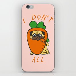 I don't carrot all iPhone Skin