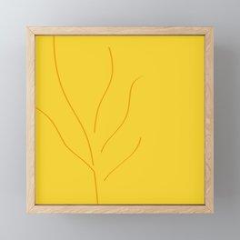 Abstract Autumn Framed Mini Art Print