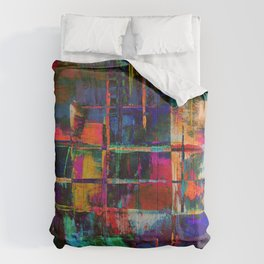 Canvas Abstract Deux Comforters