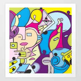 Beach Pop series Art Print