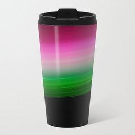 Pink Green Ombre Travel Mug