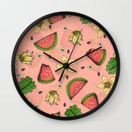 Summer Splash Wall Clock