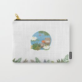 Otter in the forest Carry-All Pouch