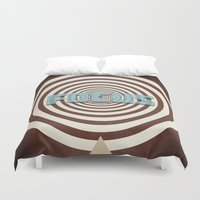 focus Duvet Covers featuring Focus by Phil Perkins