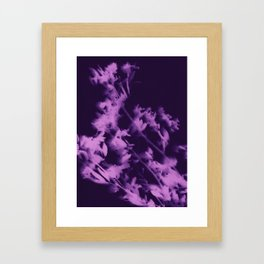 botanical - ultra violet Framed Art Print