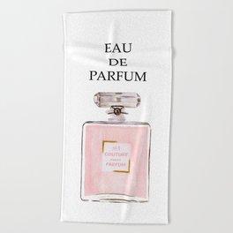 Pink Parfum Beach Towel