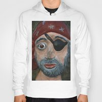 pirate Hoodies featuring Pirate by Fine2art