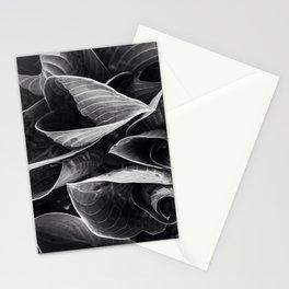 Flower | Flowers | Black Hostas | Goth Plant | Nature Art Stationery Cards