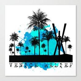 Venice Green Canvas Print