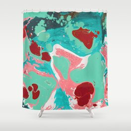 Marble texture 20 Shower Curtain
