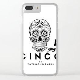 Cinco by Tatemono Paris Clear iPhone Case