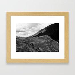 """View from """"Templo de la Luna""""  Framed Art Print"""