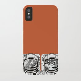 Searching for human empathy iPhone Case