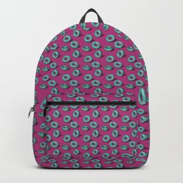 Blueberry with Tutti Frutti Strands Doughnuts Backpack