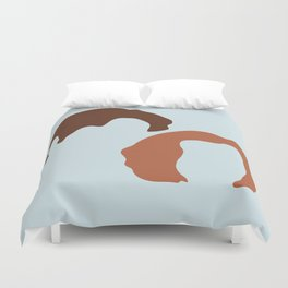 Mulder and Scully, X-Files Duvet Cover