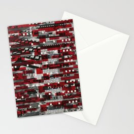 Nothing Is Accomplished (P/D3 Glitch Collage Studies) Stationery Cards