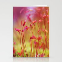 moss Stationery Cards featuring Moss by LoRo  Art & Pictures