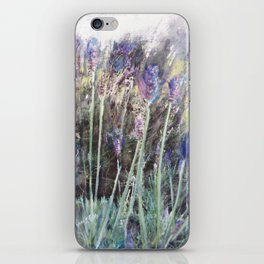 Lavender Blue 2 iPhone Skin