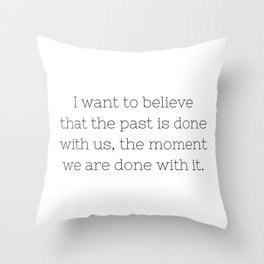 The past is done with us - Sense8 - TV Show Collection Throw Pillow