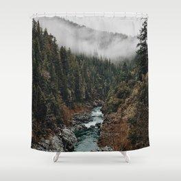 Landscape #photography Shower Curtain