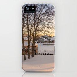 Winter Peace iPhone Case