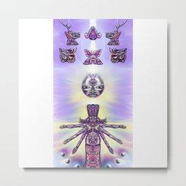 Ancestral Codex 3 Metal Print