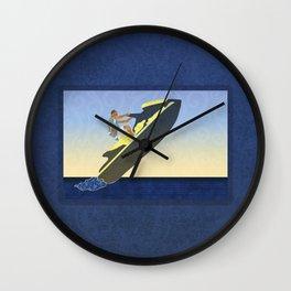 Personal watercraft Wall Clock