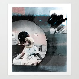 No Mammies on Saturn Art Print