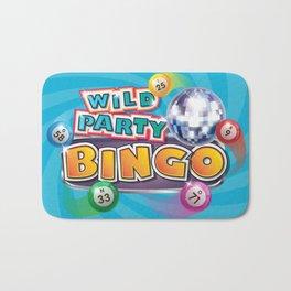 Wild Party Bingo Logo Bath Mat