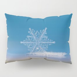 Snowflake photo - Cloud number nine Pillow Sham