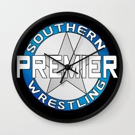 Southern Premier Wrestling Classic Logo Wall Clock