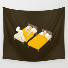 Sick In Bed Wall Tapestry