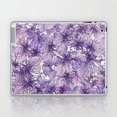 Tropical Foliage # Purple Laptop & iPad Skin