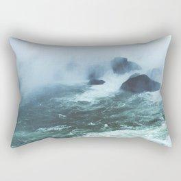 From below where all the water falls, Niagara 03 Rectangular Pillow