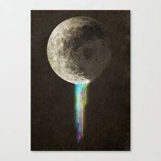 Color Bleed Canvas Print