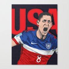 USA World Cup 2014 Canvas Print